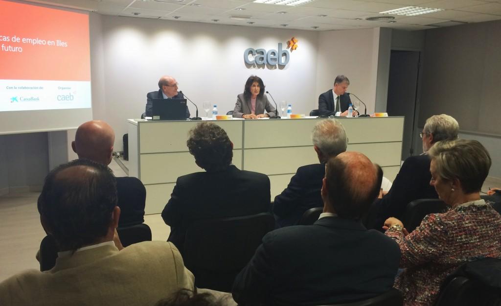 2015-10-22 CAEB CaixaBank profesor Sandalio Gomez 3
