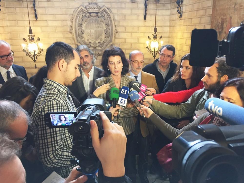 2016-02-07 CAEB Foto Reunión Alcalde Palma Palacio de Congresos 3