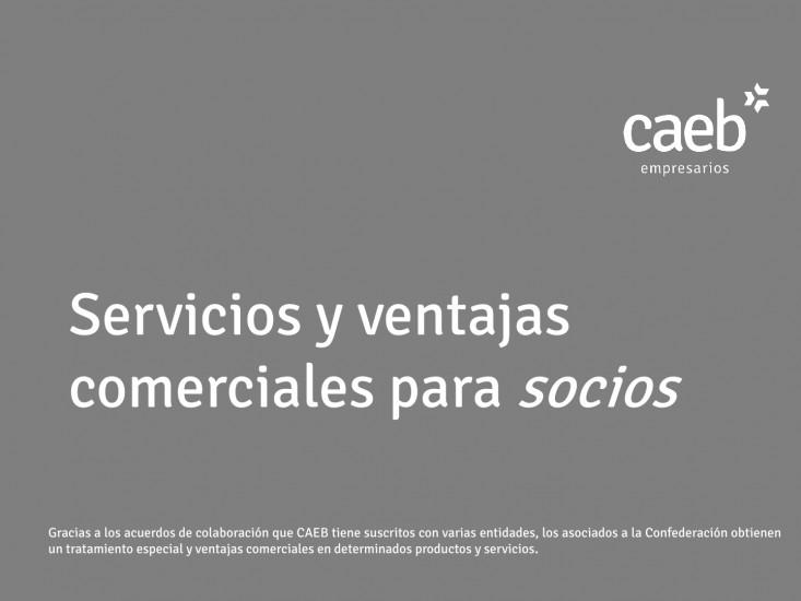 PRESENTACIÓN CORPORATIVA Y CARTA SERVICIOS CAEB26