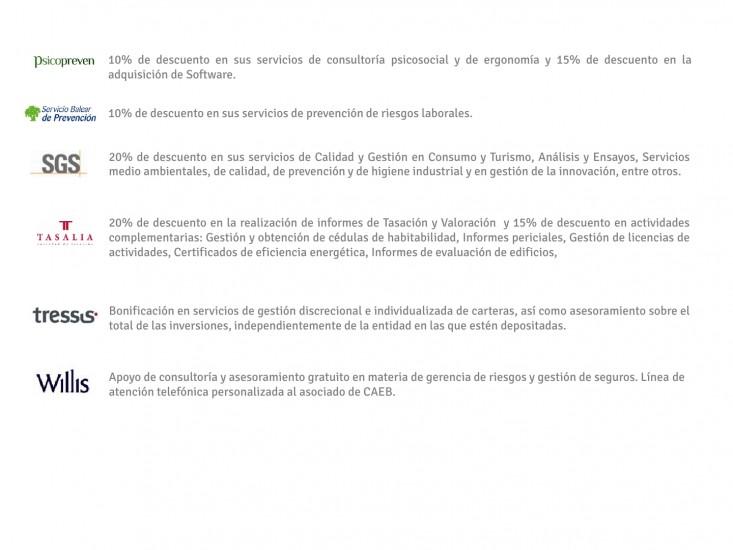 PRESENTACIÓN CORPORATIVA Y CARTA SERVICIOS CAEB28