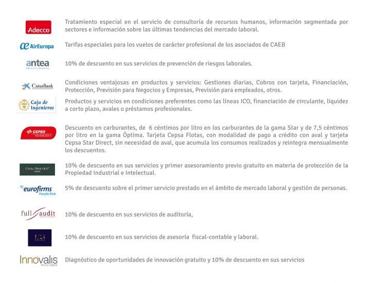 PRESENTACIÓN CORPORATIVA Y CARTA SERVICIOS CAEB_Actualizado1605201726
