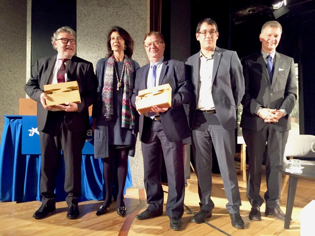 2017-02-02 CAEB NdP CAEB Menorca y CAEB Ibiza reciben el premio Incorpora