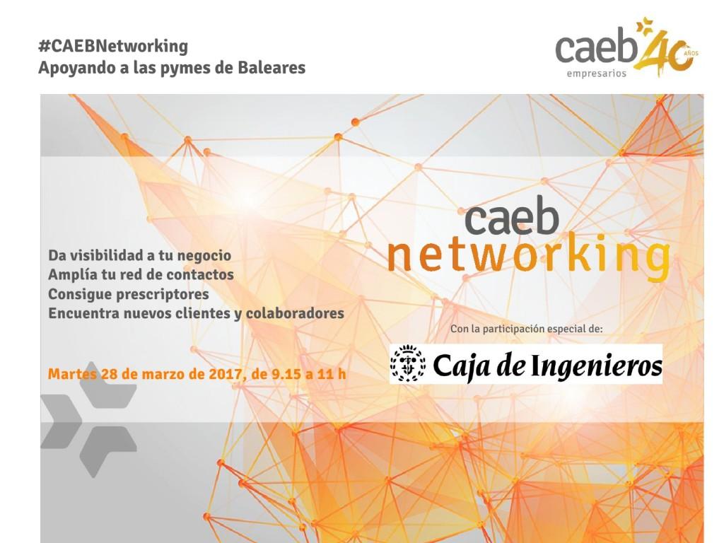 20170328 CAEB NETWORKING